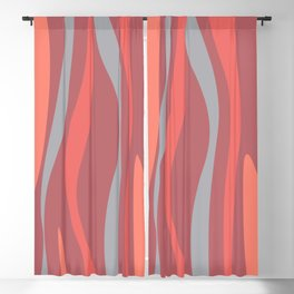 Abstract composition Blackout Curtain