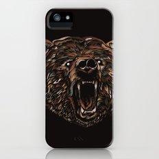 WILD BEAR iPhone (5, 5s) Slim Case