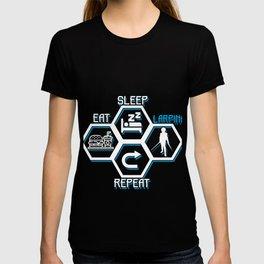 Larping Larper Larp Sleep Eat Game Live-Action Gift T-shirt