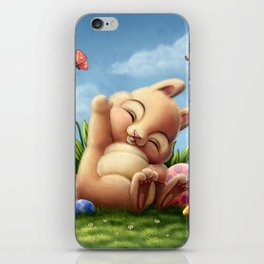 A little Easter bunny iPhone Skin