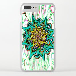 Undercover Ganja Lover 4:20 Clear iPhone Case