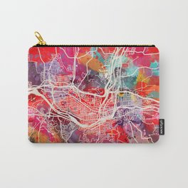 Binghamton map New York NY 2 Carry-All Pouch