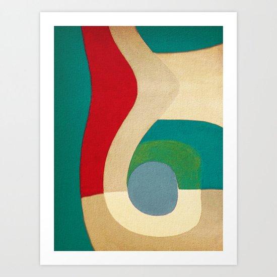Nanã Art Print