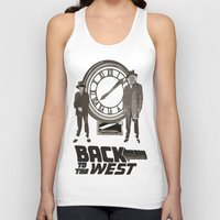 back to the future Tank Tops featuring BACK TO THE FUTURE by Rocky Rock