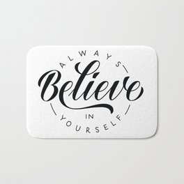 Believe in Bath Mat