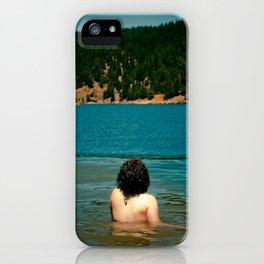 Le Lady Lake II iPhone Case