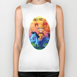 The Candy Warrior Biker Tank