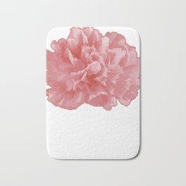 January Carnation Floral Designer Or Arranger Gift Bath Mat