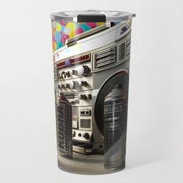 Spray cans and beats Travel Mug
