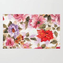 Vintage Florals Rug