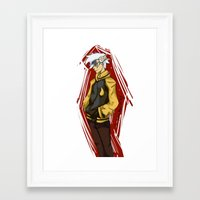 soul eater Framed Art Prints featuring Soul Eater by Alex Moriarty