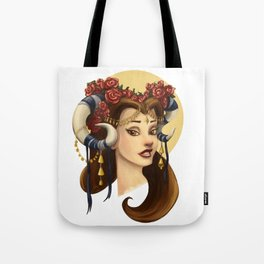 Tribal Princess Belle Tote Bag