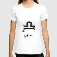 libra T-shirts featuring Libra by Make-Ready