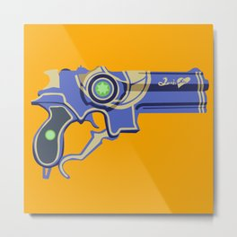 Love is Blue- Bayonetta 2 Metal Print