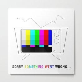 TV bug Metal Print
