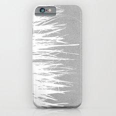 Concrete Fringe White Side Slim Case iPhone 6