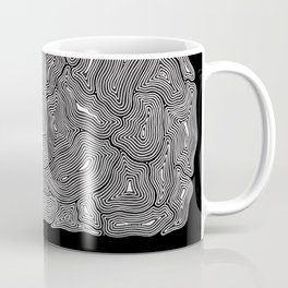 Inky Ghost Maze I Coffee Mug