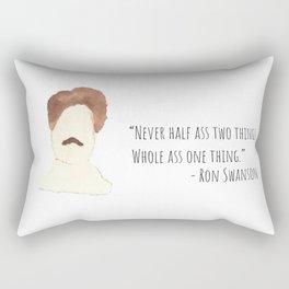 Swanson Quote Rectangular Pillow