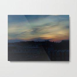 Illusory British Sunset (Part 1) Metal Print