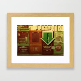 change your social life  Framed Art Print