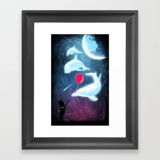 Friend Of The Night Framed Art Print