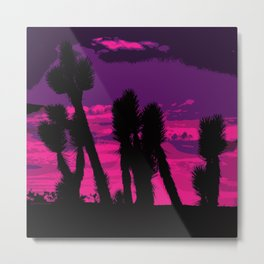 Joshua Sunset Metal Print