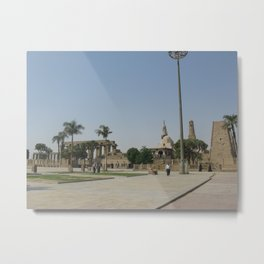 Temple of Luxor, no. 8 Metal Print