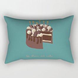 Let them eat cake... Rectangular Pillow