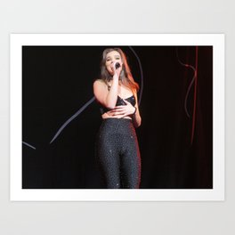 Hailee S live at Radio City Art Print