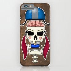 Skater Skull by RonkyTonk Roller Derby Slim Case iPhone 6s