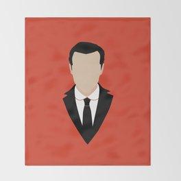 3 Jim Moriarty Throw Blanket