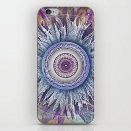 Crown Chakra (II) iPhone Skin