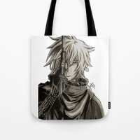 noir Tote Bags featuring Noir by OtakuRuki