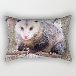 Possum in a Tree Rectangular Pillow