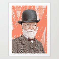 Andrew Carnegie Alternate Color Art Print