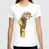 antlers T-shirts featuring Antlers by MorningMajor