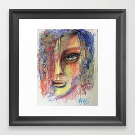 The Look II Framed Art Print