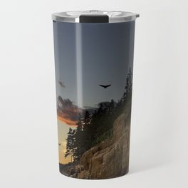 Bass Harbor Head Lighthouse Acadia National Park Travel Mug