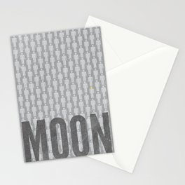 Moon Minimalist Poster Stationery Cards