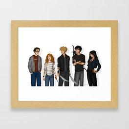 City of Bones Framed Art Print