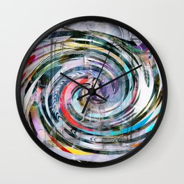 Two Bacons in Love Wall Clock