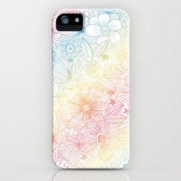 mostly harmless - rainbow iPhone Case