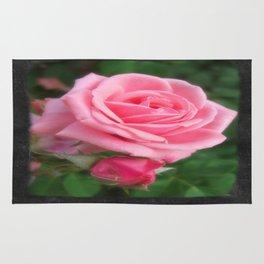Pink Roses in Anzures 2 Blank P4F0 Rug