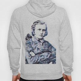 Johannes Brahms (1833 – 1897) in 1853 (3) Hoody