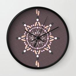 Breast Cancer Survivor Kaleidoscope Art Wall Clock
