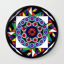 Kalidescope Wall Clock