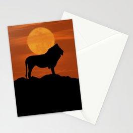 Lion Sunrise Stationery Cards