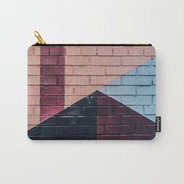 painted wall Carry-All Pouch