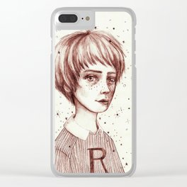 RonRon Clear iPhone Case