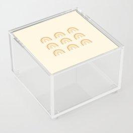 Neutral Rainbows Acrylic Box